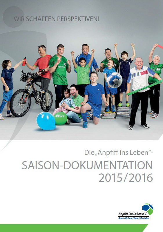 Cover der Saisondokumentation 2015/16